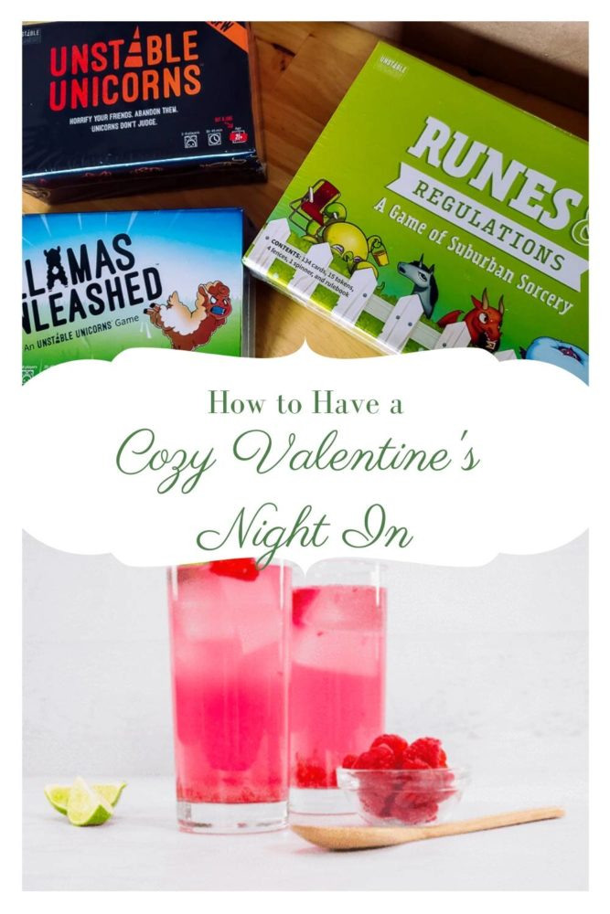 Cozy Valentines Night In - Pin