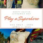 Win a Superhero Item - Pin