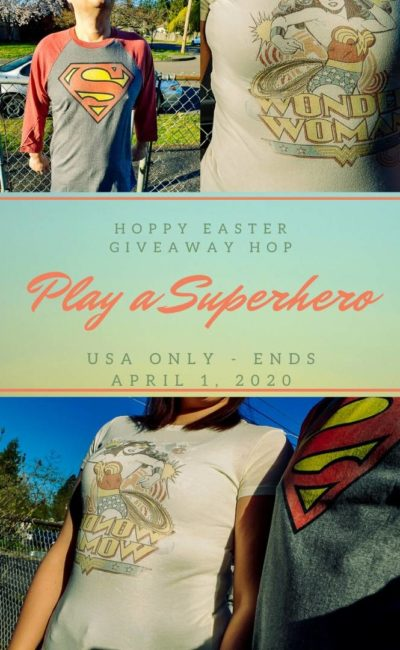 Win a Superhero Item in the Hoppy Easter Giveaway Hop