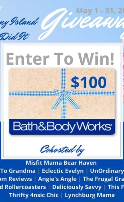 May Giveaway $100 Bath and Body Works