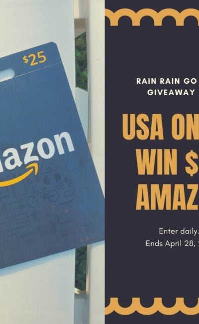 Chance to Win $25 Amazon in April *USA Only*