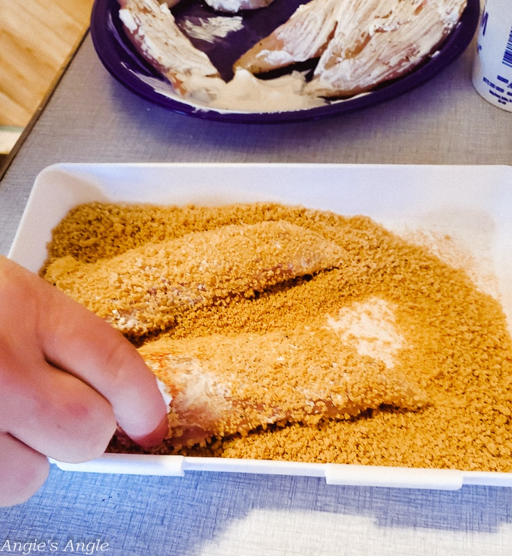 Chicken Tender Crisps - Dip in Panko Mix