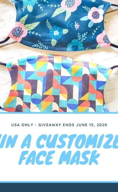 Chance to Win a Customized Face Mask *USA only*