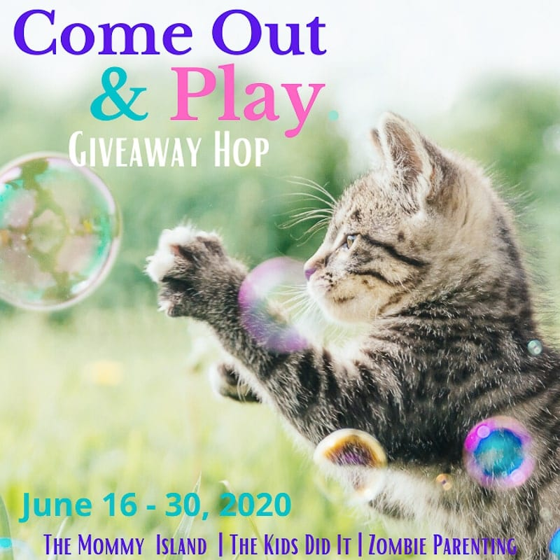 Come Out & Play Giveaway Hop Button