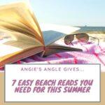 7 Easy Beach Reads - Pin