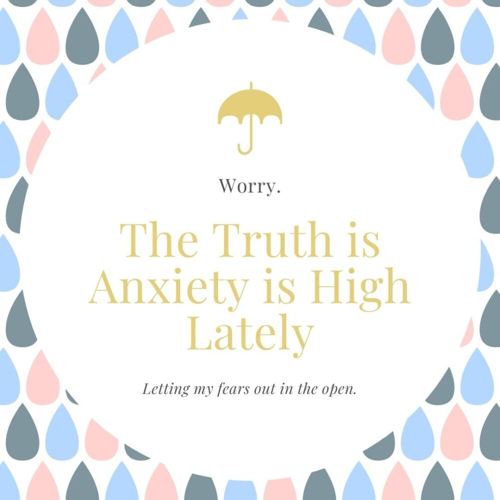 Anxiety is High Lately - Social