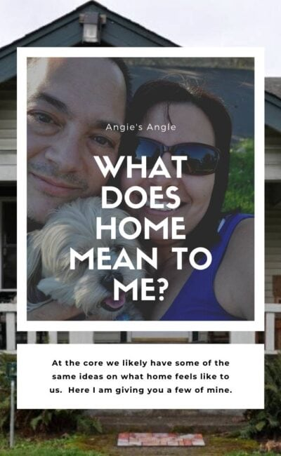 Curious as to What Home Means to Me?