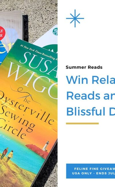Win Relaxing Reads and Blissful Drinks – Make Time For You *USA only*