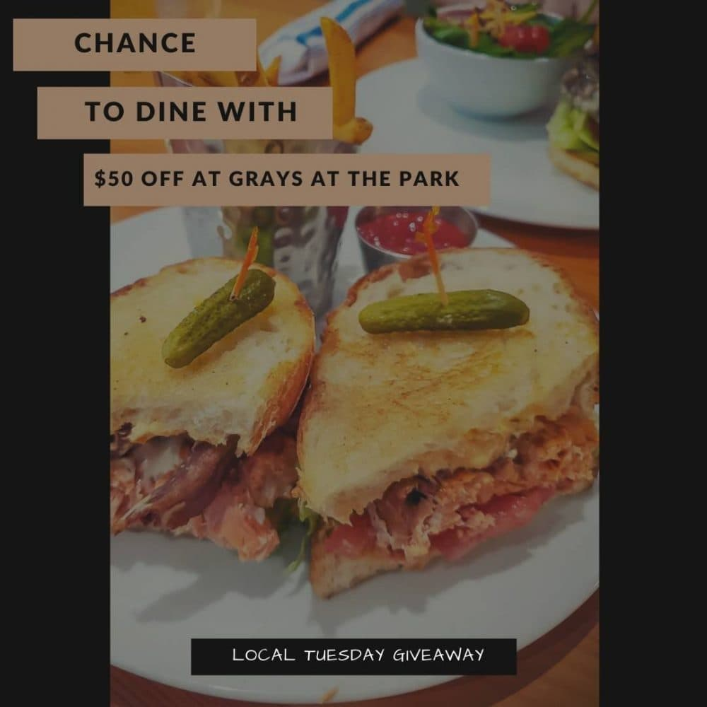 Dine at Grays at the Park - Social