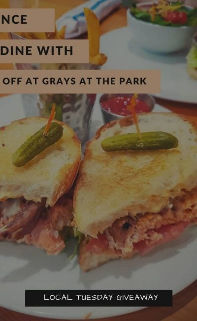 Chance to Dine at Grays at the Park – $50 Off