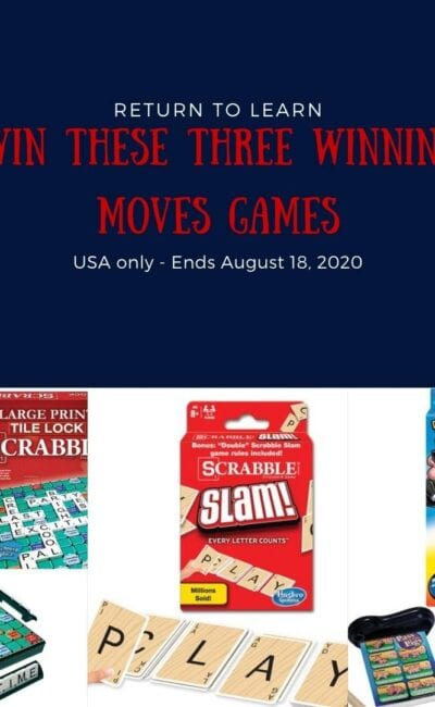 Enter Now For Your Chance to Win Some Winning Moves Games