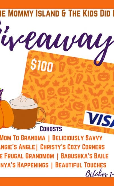 October $100 Visa Giveaway