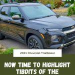 Tidbits of the 2021 Chevrolet Trailblazer - Solid Pin