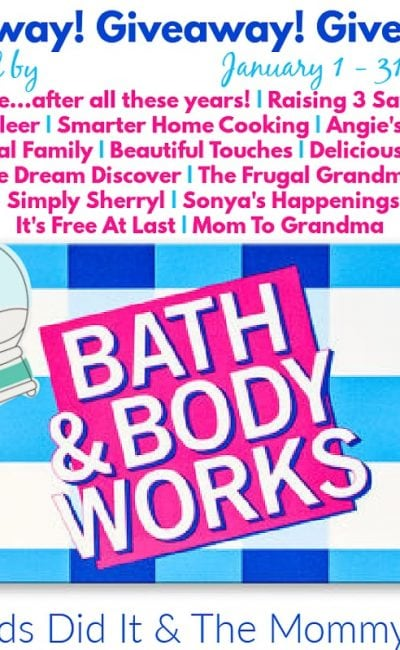 Kicking Off the New Year with January $100 Bath and Body Works Giveaway