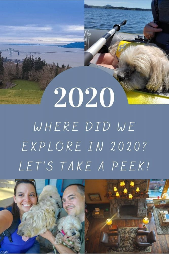 Where Did We Explore in 2020 - Pin