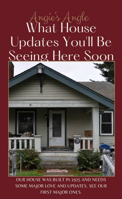Curious What House Updates You'll Be Seeing Here Soon