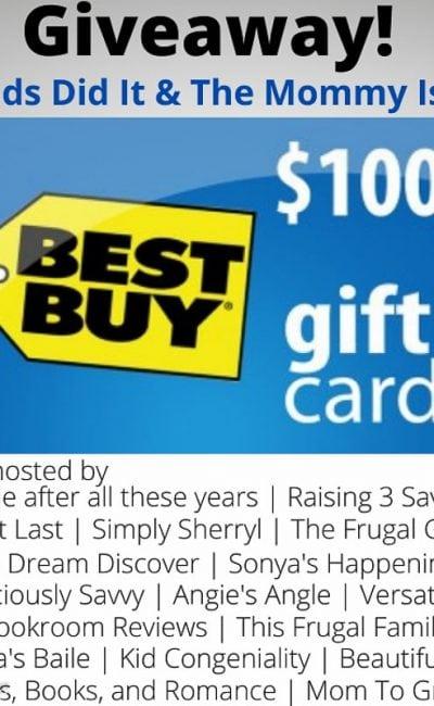 $100 June Best Buy Giveaway