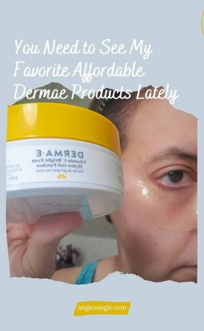 You Need to See My Favorite Affordable Dermae Products Lately