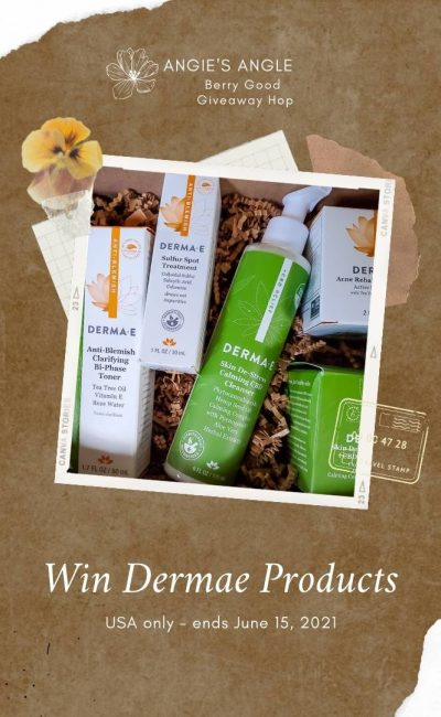 Win Dermae Products in this Berry Good Giveaway